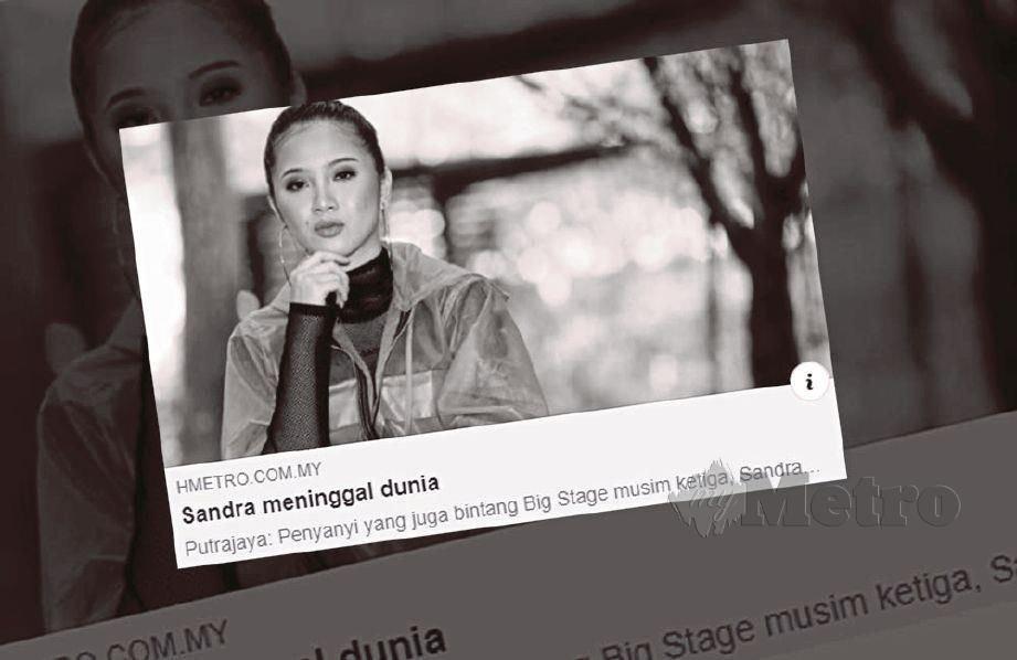Sandra Dianne akan dikebumikan di kampung halamannya di Kg Kauluan, Tuaran.