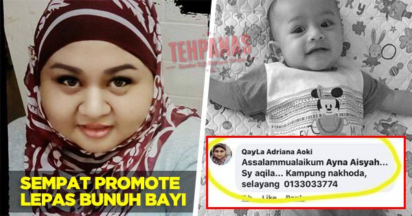 Lepas Bunuh Adam Rayqal, Pengasuh Promote Untuk Jaga Baby Lagi - TEHPANAS
