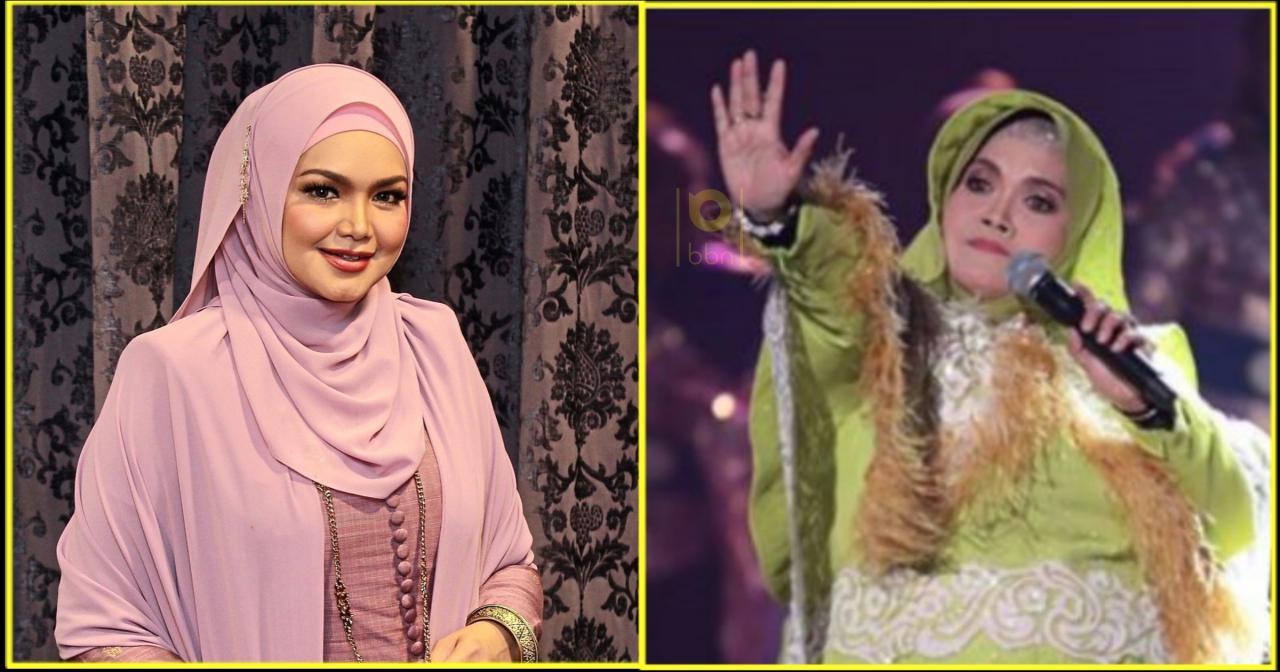 Ramai Terkejut Aishah Ganti, Sekali Siti Nurhaliza Beri Komen Yg Tak Disangka – Siakap Keli Press