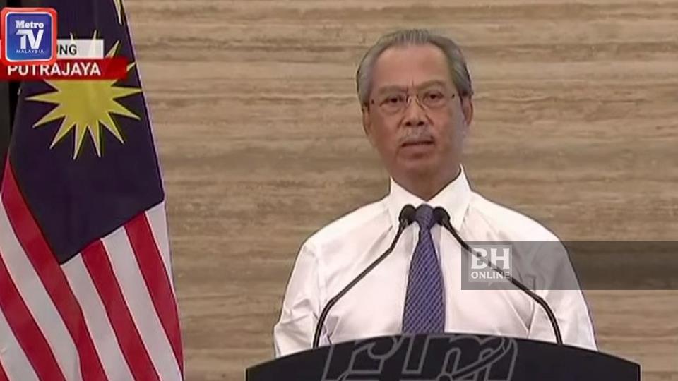 Perdana Menteri, Tan Sri Muhyiddin Yassin