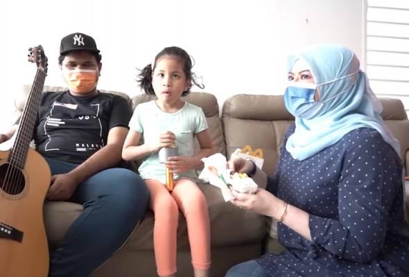 Rina Harun mohon maaf suapkan anak Fendi Caliph Busker, zahir terima kasih atas teguran