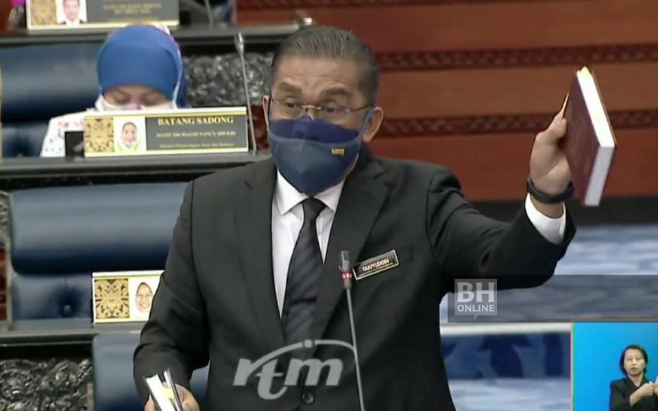 Ahli Parlimen Kota Bharu dan Menteri di Jabatan Perdana Menteri (Parlimen dan Undang-Undang), Datuk Seri Takiyuddin Hassan. - Foto RTM